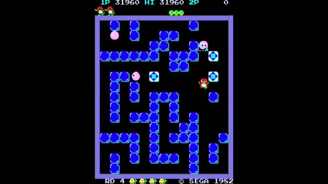 arcade classic game huren virtualgames carecaverhuur pengo atari